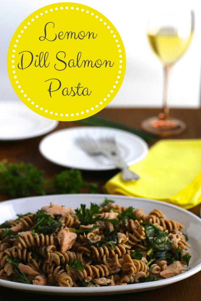 lemon dill salmon pasta