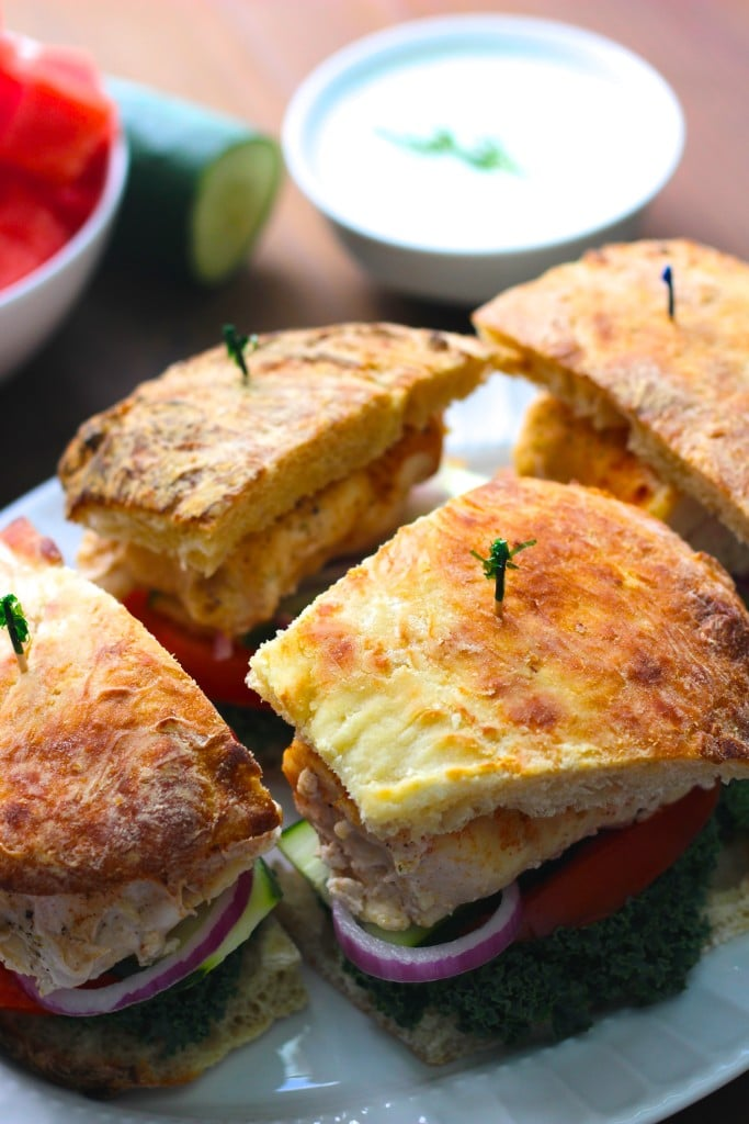Greek chicken feta burgers 3