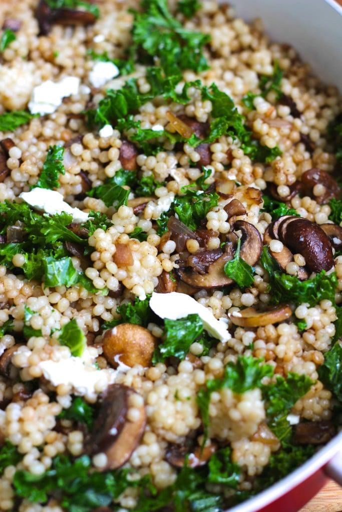 mushroom couscous 2