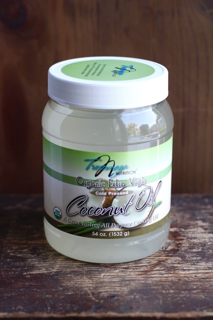 Cooking with coconut oil is a healthy substitute for canola or vegetable oil.