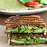 I could eat this avocado zucchini grilled cheese sandwich every day! My favorite grilled cheese sammie ever!