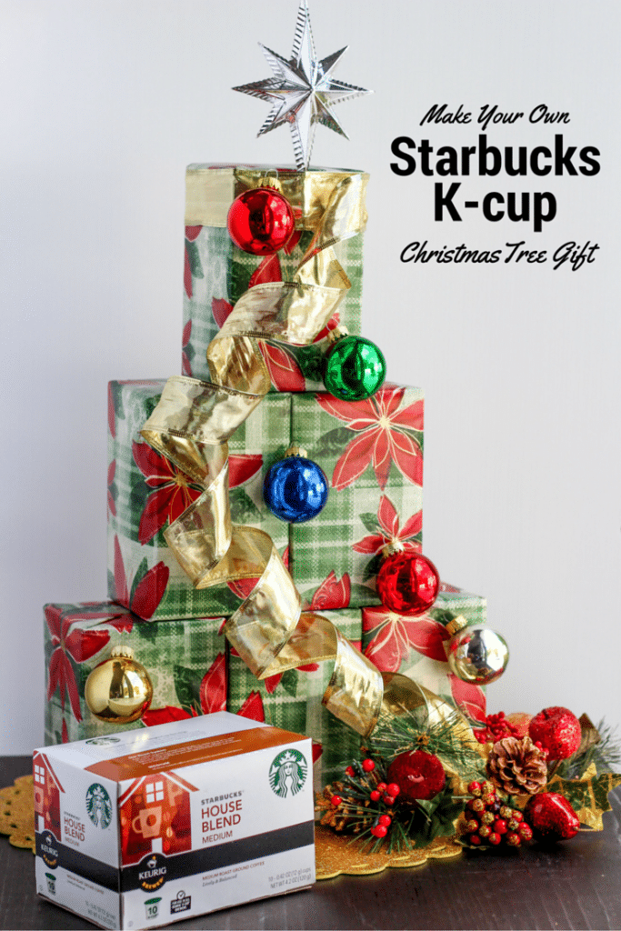 Starbucks k-cup tree