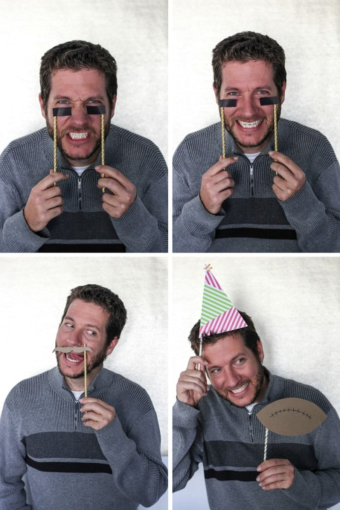 Travis in the photo booth