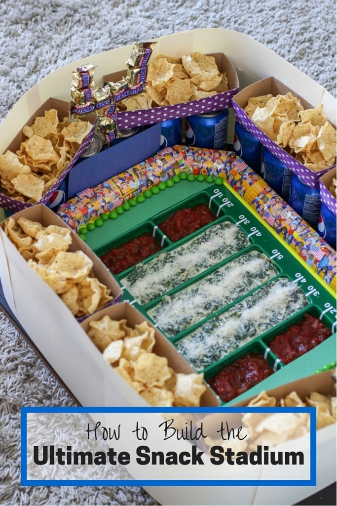 how to build a snack stadium 2