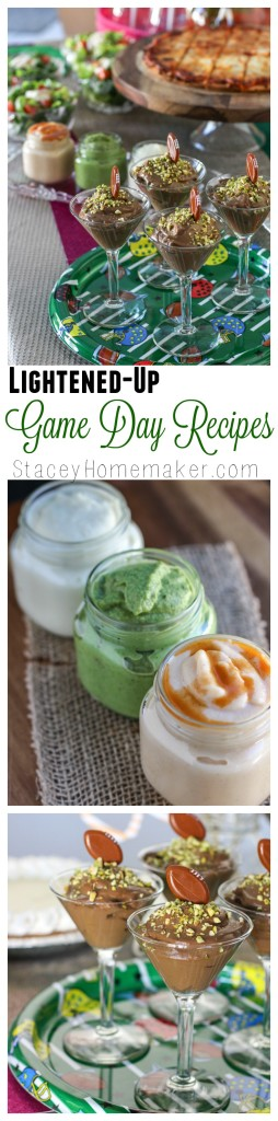 lightened-up game day recipes