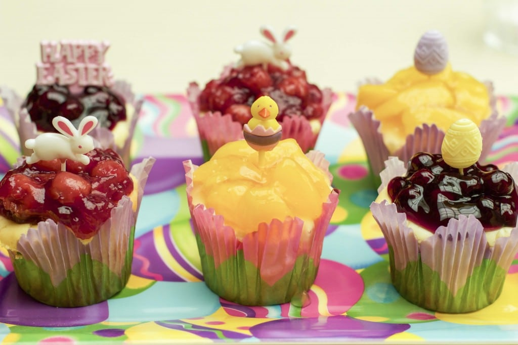 fruit filled cheesecakes