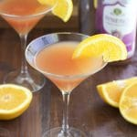 Tangy passionberry kombucha martinis that are mixed with a healthy alternative instead of sugar loaded fruit juices or soda. You don't have to feel guilty about having a few of these cocktails!