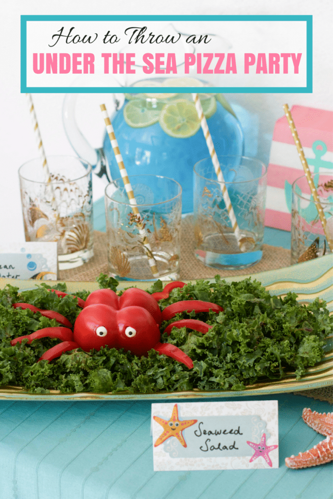 UNDER THE SEA PIZZA PARTY