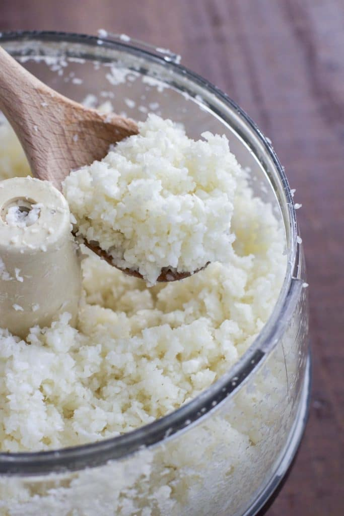 How to make cauliflower rice in 3 easy steps