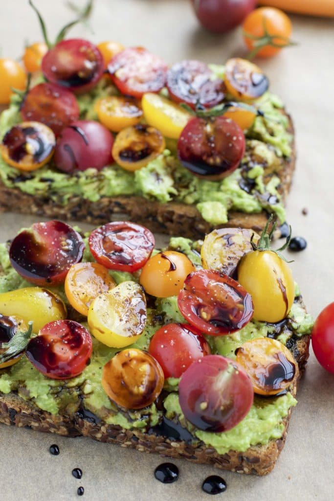 Avocado toast is my favorite healthy breakfast. Here are 4 examples of loaded avocado toast that will blow your mind + 15 variations!