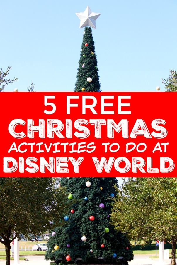 Christmas Eve Activities.5 Free Christmas Activities At Disney World