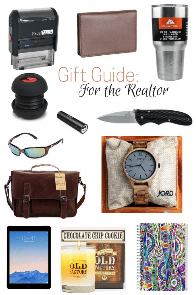 Do you have a realtor in your life but have no idea what gift to give them? I bet they would love everything on this gift guide, especially #1!