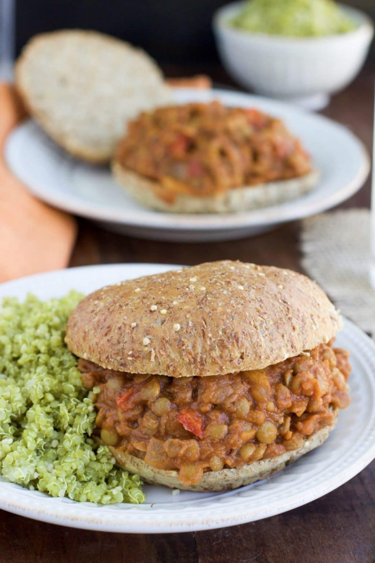 (Secret Ingredient) Vegan Lentil Sloppy Joe's