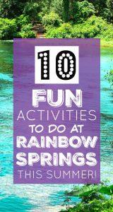 Rainbow Springs Florida