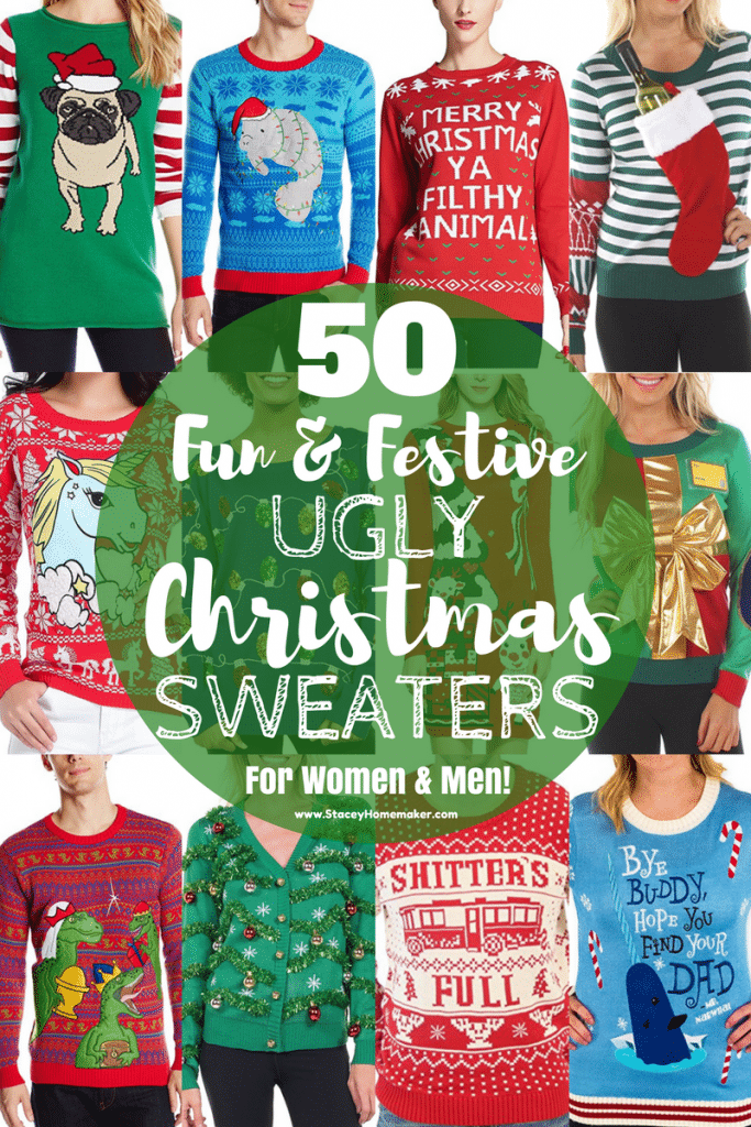 Tis the season for ugly Christmas sweaters! This list has the perfect sweater for you and all your friends!