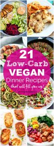 Low-Carb Vegan Recipes