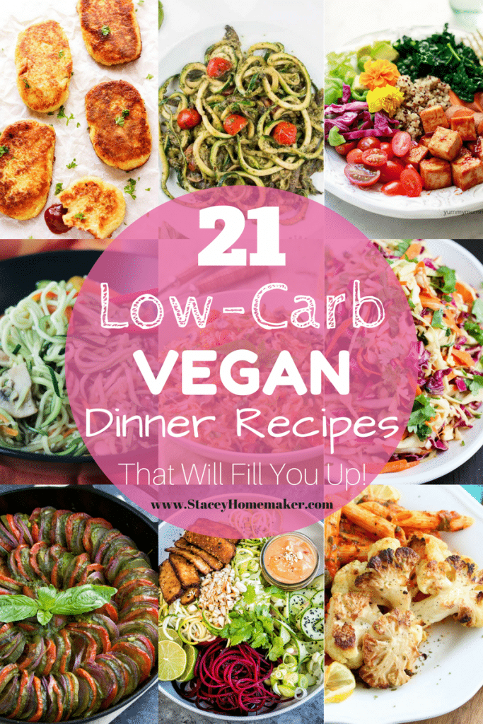 21 Low Carb Vegan Recipes That Will Fill You Up