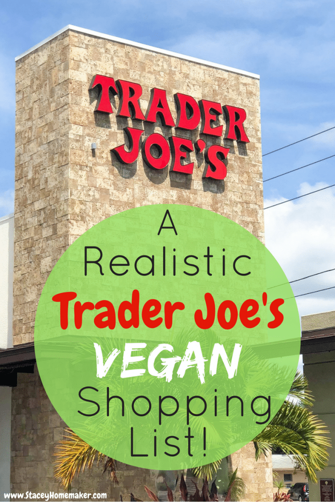 A list of the best vegan products at Trader Joe's.