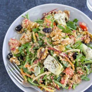 Arugula Quinoa Salad