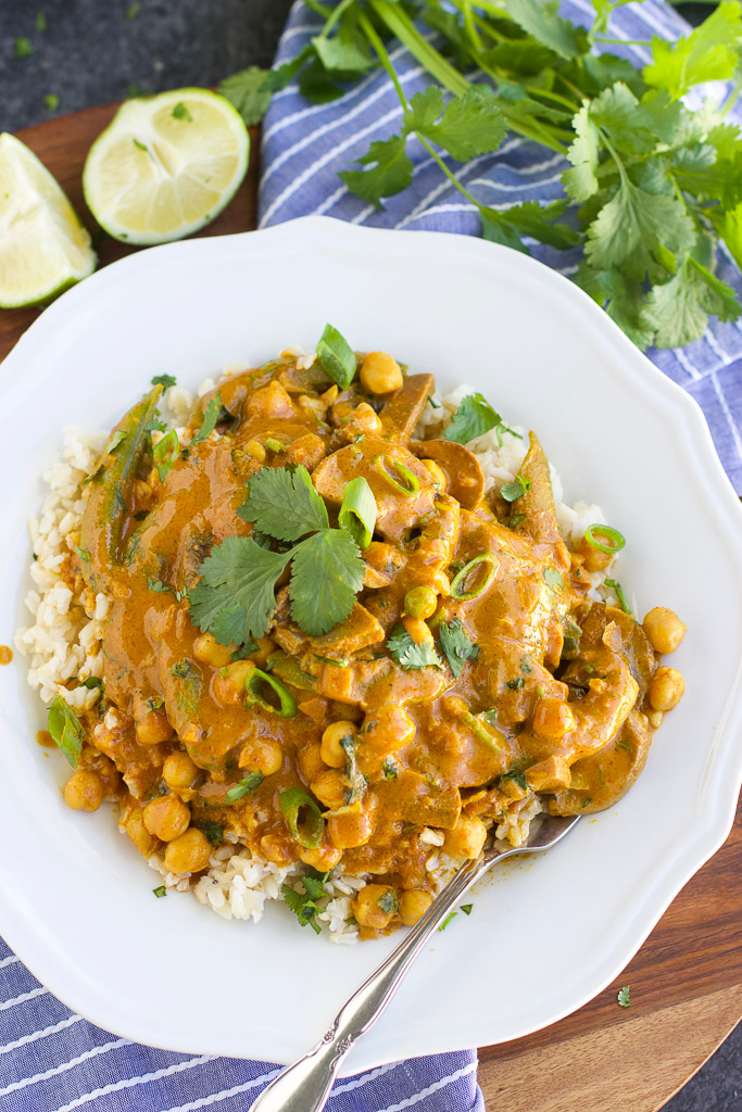 30-Minute Vegan Curry
