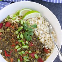 HOW TO MAKE CURRIED LENTILS