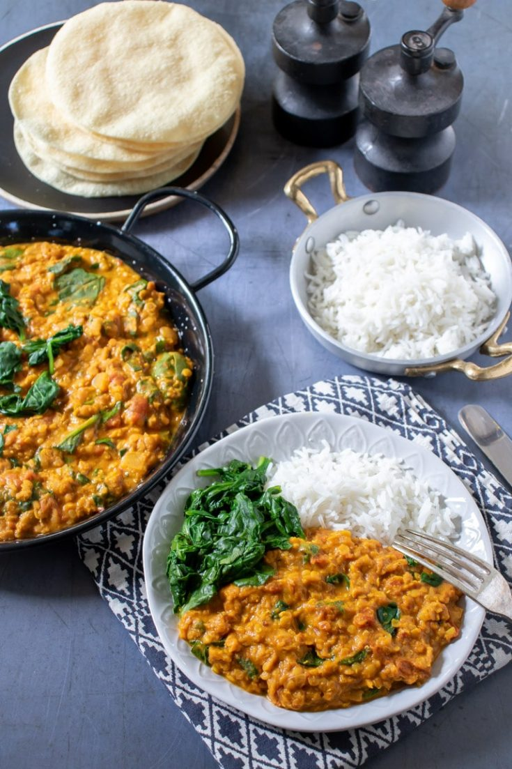 Red Lentil Dahl Recipe {video + tutorial }