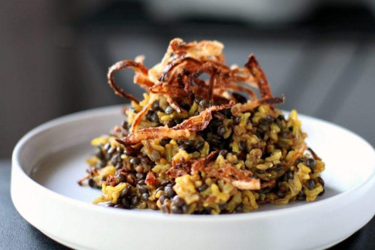 Ottolenghi Style Comfort Food - Mejadra
