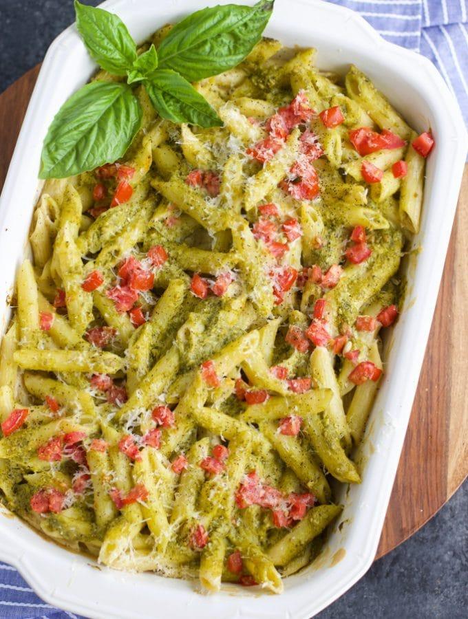 healthy vegan pasta bake