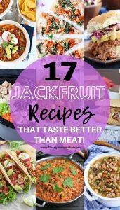 Vegan Jackfruit Recipes