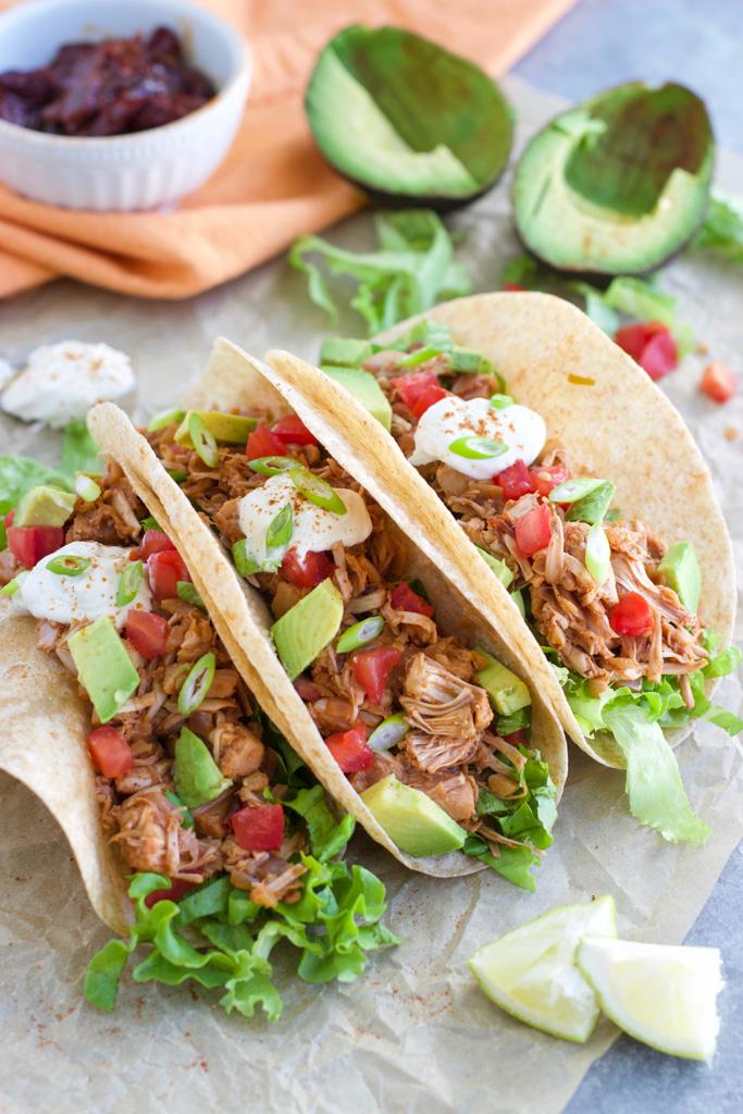 The BEST Jackfruit Tacos! (Vegan Keto-Friendly)