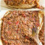 Lentil sloppy joes filling