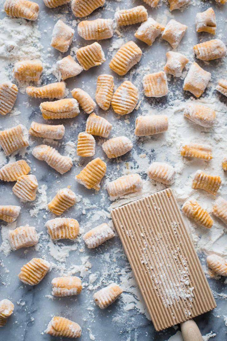 3 Ingredient Sweet Potato Gnocchi | Food with Feeling