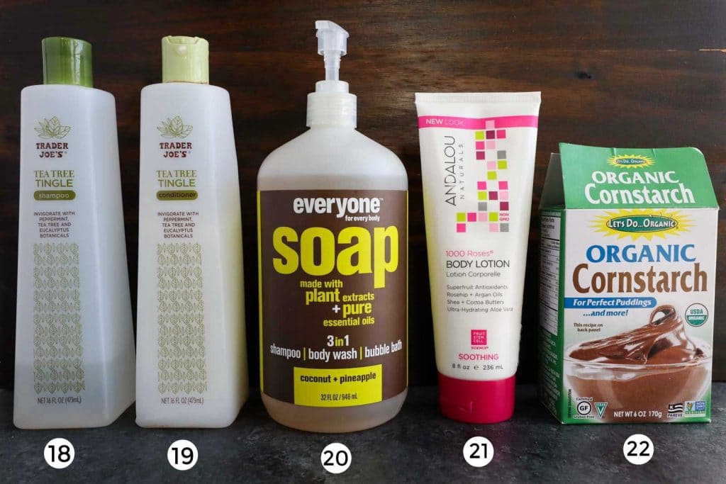 A picture showing multiple cruelty-free vegan beauty products.